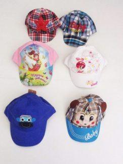 Όλα μας τα καπέλα made in PRC 65% pol.35% cotton