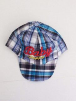 CAP Καρό BabyΌλα τα καπέλα made in PRC 65% pol.35% cotton τιμη3€