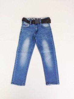 Fashion boy νο.6-16 τζιν με στρατιωτική ζώνη απο25€ μόνο 19€ .85%cott.13% pol.2% elastan